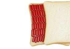сандвич снадобья стоковые изображения rf