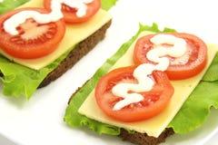 сандвич сыра Стоковое Фото