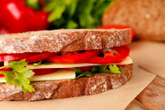сандвич сыра Стоковое Изображение