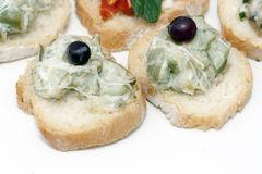 Сандвич с артишоками Стоковое Фото
