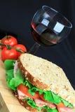 сандвич 2 ед стоковая фотография rf