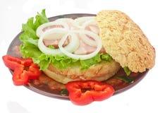 сандвич стоковое фото