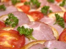 сандвич 3 Стоковое Изображение
