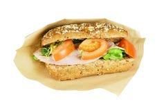 Сандвич Brown. Стоковая Фотография
