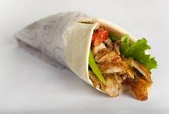 Сандвич Shawarma, Doner Kebab Стоковая Фотография RF