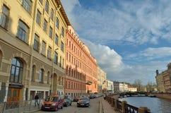Санкт-Петербург Городские взгляды стоковые изображения rf