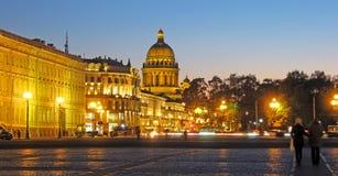 Санкт-Петербург Россия Собор St Isaac's стоковое изображение rf