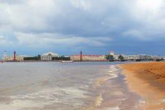 Санкт-Петербург Россия landmark исторического центра обваловка Стоковые Изображения RF