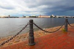 Санкт-Петербург Россия landmark исторического центра обваловка Стоковое Изображение RF