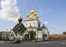 Санкт-Петербург, собор значка Feodorvskaya St Mary Стоковое Фото