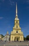 Санкт-Петербург, собор St Peter и Паыля Стоковое Фото