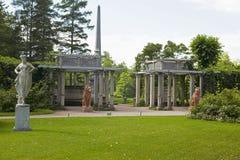 Санкт-Петербург, Tsarskoye Selo Pushkin, Россия Стоковое фото RF