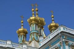 Санкт-Петербург, Tsarskoye Selo Pushkin, Россия Стоковые Изображения RF