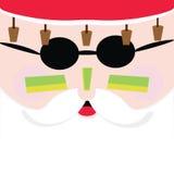 Санта в Австралии Стоковое Изображение RF