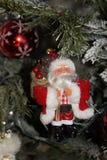 Санта Клаус - вид спереди Стоковая Фотография RF
