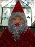 Санта Клаус в торговом районе Стоковая Фотография RF