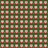 Санта Клаус и текстура Стоковая Фотография