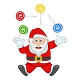 Санта Клаус для вашей иллюстрации вектора дизайна Стоковое Фото