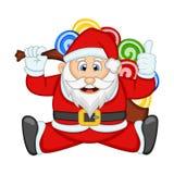 Санта Клаус для вашей иллюстрации вектора дизайна Стоковая Фотография