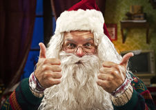 Санта Клаус Стоковое фото RF