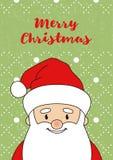 Санта Клаус Card-03 Стоковая Фотография RF