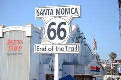 Санта-Моника Стоковое фото RF