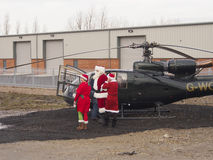 Санта приземлилось Стоковое фото RF