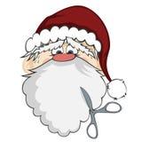 Санта смотрит на Стоковая Фотография