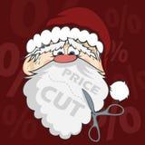 Санта смотрит на Стоковая Фотография RF