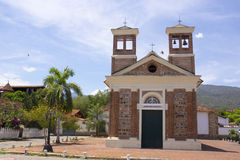 Санта-Фе de Antioquia, Antioquia, ¡ Колумбии - Iglesia de Nuestra Señora de Chiquinquirà Стоковые Фотографии RF