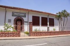 Санта-Фе de Antioquia, Antioquia, Колумбия - исторический центр города Стоковое Фото