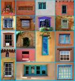 Санта-Фе Windows Стоковое Изображение