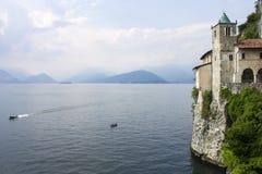 Санта Caterina del Sasso, Италия Стоковые Фото