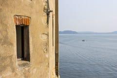 Санта Caterina del Sasso, Италия Стоковые Фотографии RF