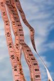 Сантиметры в небо стоковое изображение rf