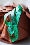 Сантиметр для измеряя тела Стоковые Изображения