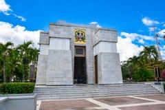 Санто Доминго, Доминиканская Республика Алтар de Ла Patria, алтар родины Стоковая Фотография RF