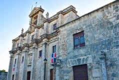 Санто Доминго, Доминиканская Республика Национальный пантеон в улице Las Damas Стоковое Фото