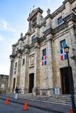 Санто Доминго, Доминиканская Республика Национальный пантеон расположенный в улице Las Damas Стоковые Изображения RF