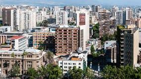 Сантьяго de Чили Стоковое фото RF