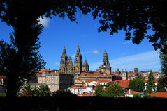 Сантьяго de Compostela Стоковые Фотографии RF