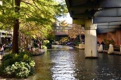 Сан Антонио Riverwalk, Сан Антонио, Техас стоковые фотографии rf