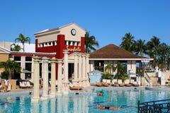 Сандалии все багамец включительного курорта грандиозный Стоковое фото RF