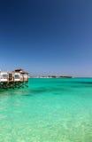 Сандалии все багамец включительного курорта грандиозный Стоковые Изображения RF