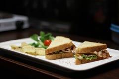 Сандвичи бекона стоковое изображение