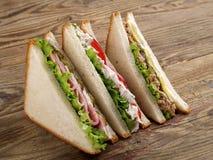 Сандвичи клуба стоковое фото