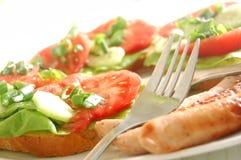 сандвичи плиты Стоковое Фото