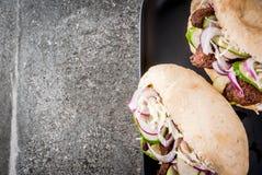 Сандвичи плюшек Bao стоковые фотографии rf