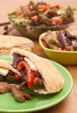 Сандвичи хлеба пита Стоковые Изображения RF
