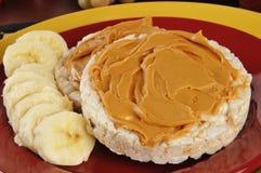 сандвич арахиса масла банана Стоковые Изображения RF